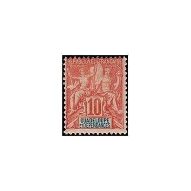 Guadeloupe N° 041 Obli