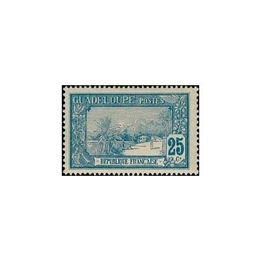 Guadeloupe N° 062 Obli
