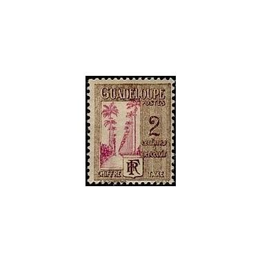 Guadeloupe TA N° 025 N **
