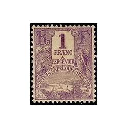 Guadeloupe TA N° 022 N *