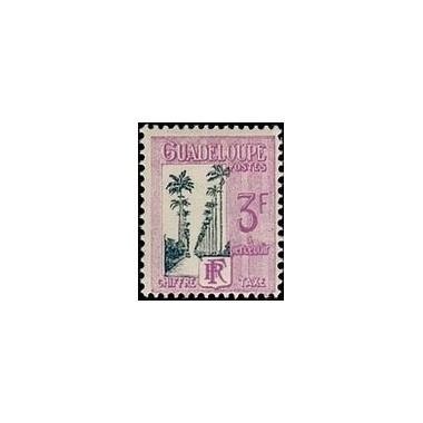 Guadeloupe TA N° 037 N *