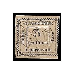 Guadeloupe TA N° 006 Obli