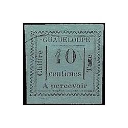 Guadeloupe TA N° 007 Obli