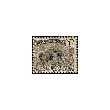 Guyane N° 049 Obli