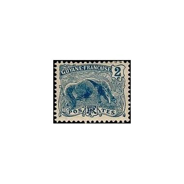 Guyane N° 050 Obli
