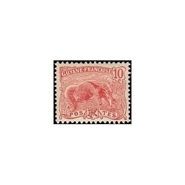 Guyane N° 053 Obli