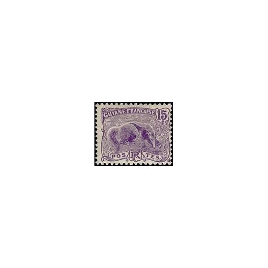Guyane N° 054 Obli