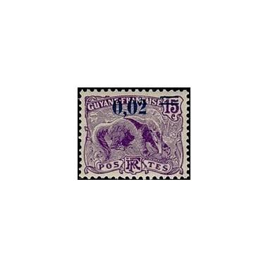 Guyane N° 092 Obli