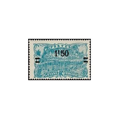 Guyane N° 104 Obli