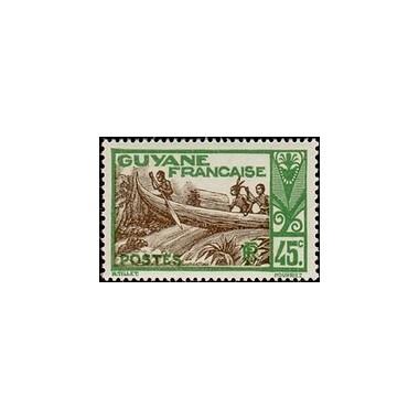 Guyane N° 119 Obli