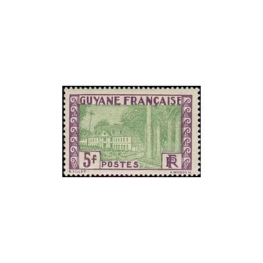 Guyane N° 130 Obli