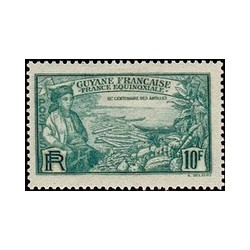 Guyane N° 142 Obli