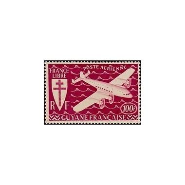 Guyane N° PA027 Obli