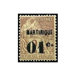 Martinique N° 007 N *