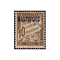 Martinique N° TA002 N **