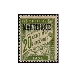 Martinique N° TA003 N **
