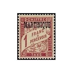 Martinique N° TA009 N **