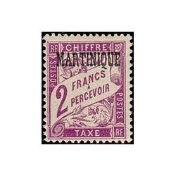 Martinique N° TA010 N **