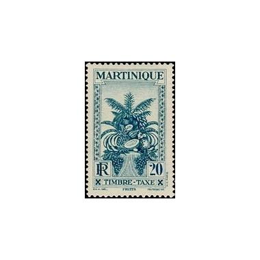 Martinique N° TA014 N **