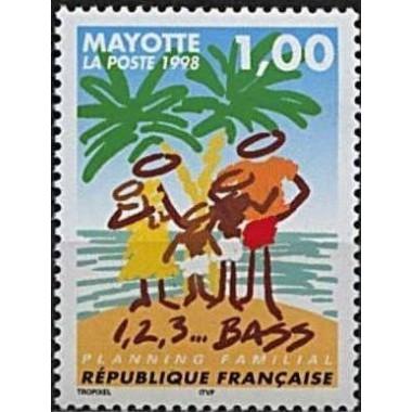 Mayotte N° 054 Neuf **
