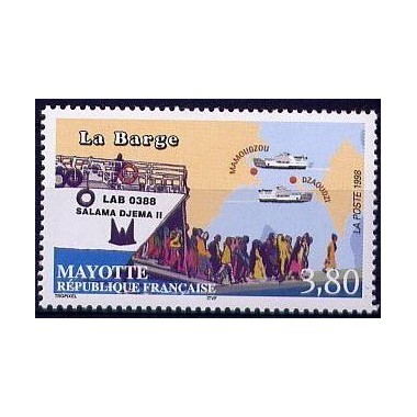 Mayotte N° 056 Neuf **