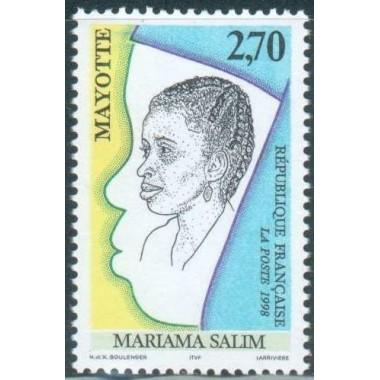 Mayotte N° 058 Neuf **