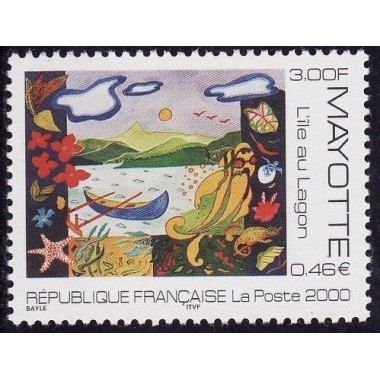Mayotte N° 084 Neuf **