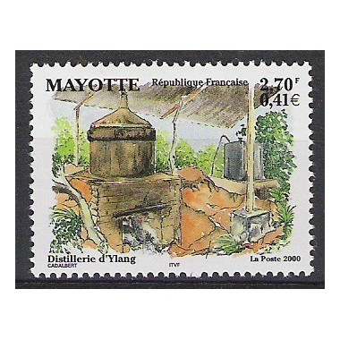 Mayotte N° 090 Neuf **
