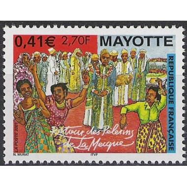 Mayotte N° 100 Neuf **