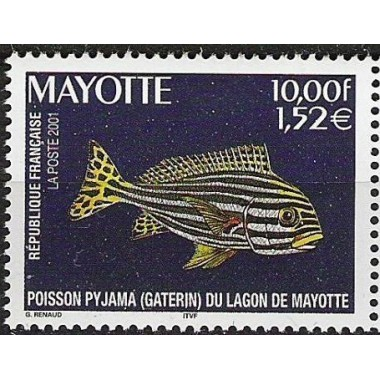 Mayotte N° 102 Neuf **