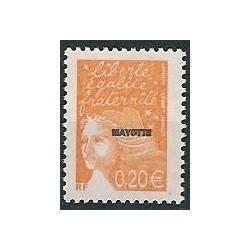 Mayotte N° 116 Neuf **