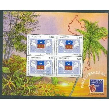Mayotte BF N° 001 Neuf **