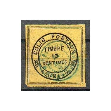 Colis Postal N° 01 Oblitere