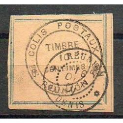 Colis Postal N° 02 Oblitere
