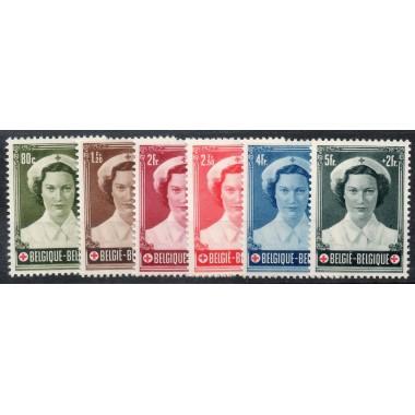 Belgique  Neuf ** N° 912/917