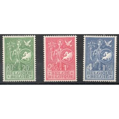 Belgique  Neuf ** N° 927/929