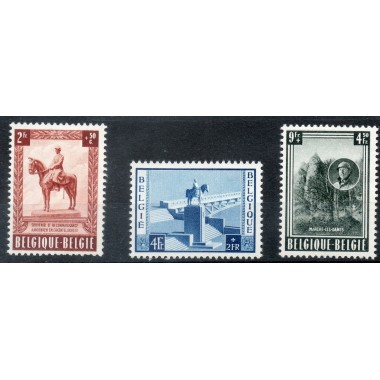 Belgique  Neuf ** N° 938/940