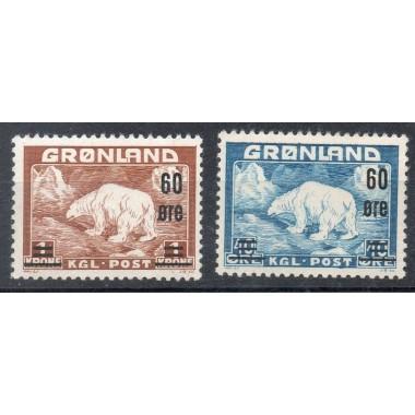 Groenland Neuf ** N° 028/29