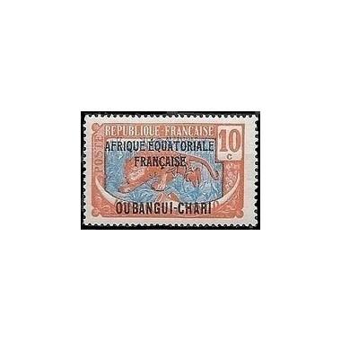 Oubangui N° 063 Obli