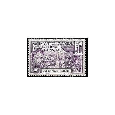 Oubangui N° 085 Obli