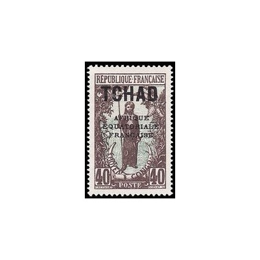 Tchad N° 029 Obli