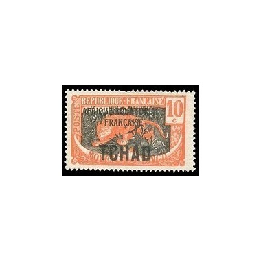 Tchad N° 037 Obli