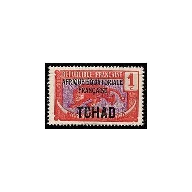 Tchad N° 019 Obli