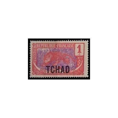 Tchad N° 001 Obli