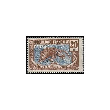 Congo N° 054 Obli