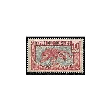 Congo N° 052 Obli