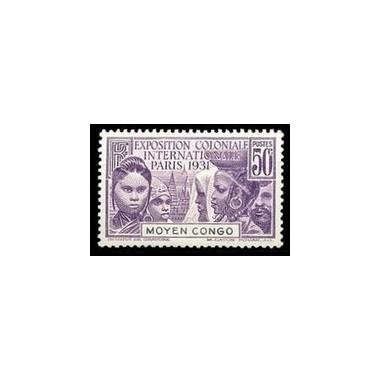 Congo N° 110 Obli