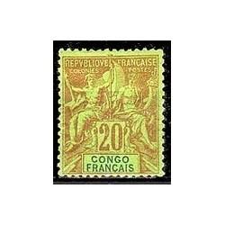 Congo N° 018 Obli