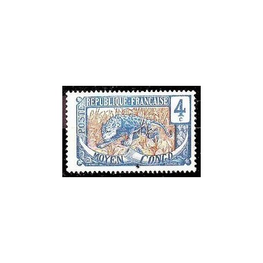 Congo N° 050 Obli