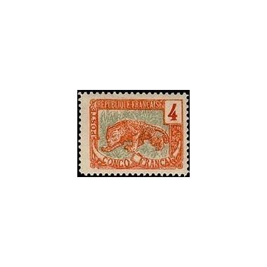 Congo N° 029 Obli
